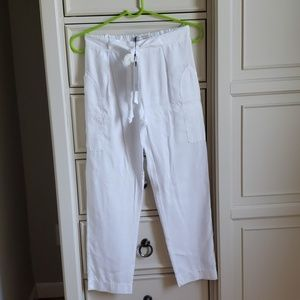 Girls white summer pants